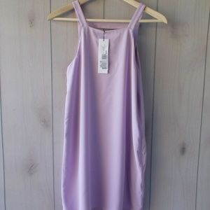 Parker Chicago Dress Lilac Party Cocktail Dress